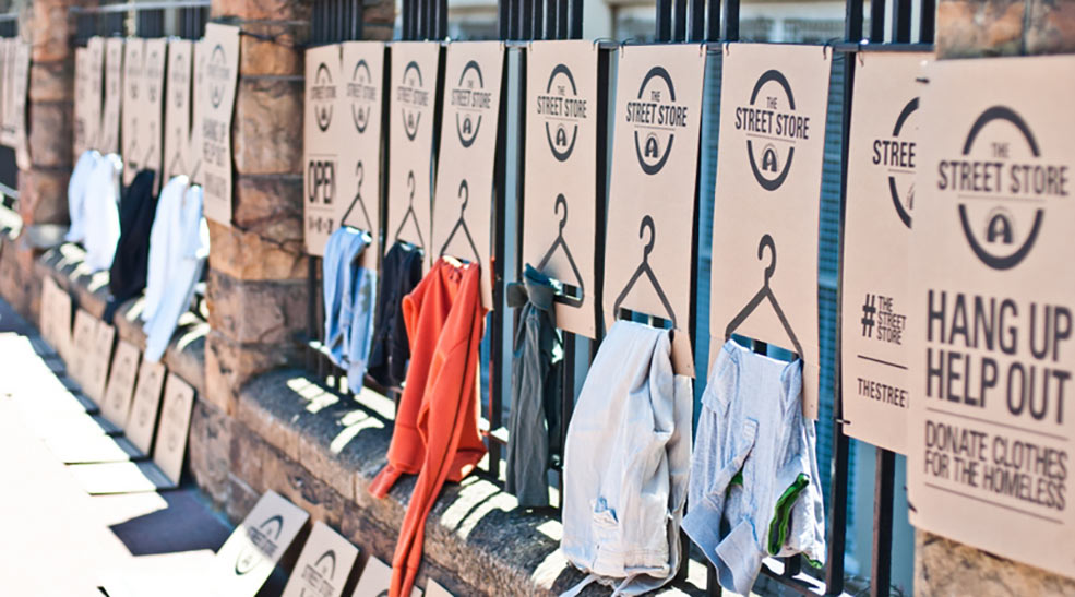 Help us dress people with dignity at Bellville's first pop-up Street Store