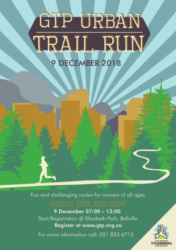 GTP Urban Trail Run 9 December 2018