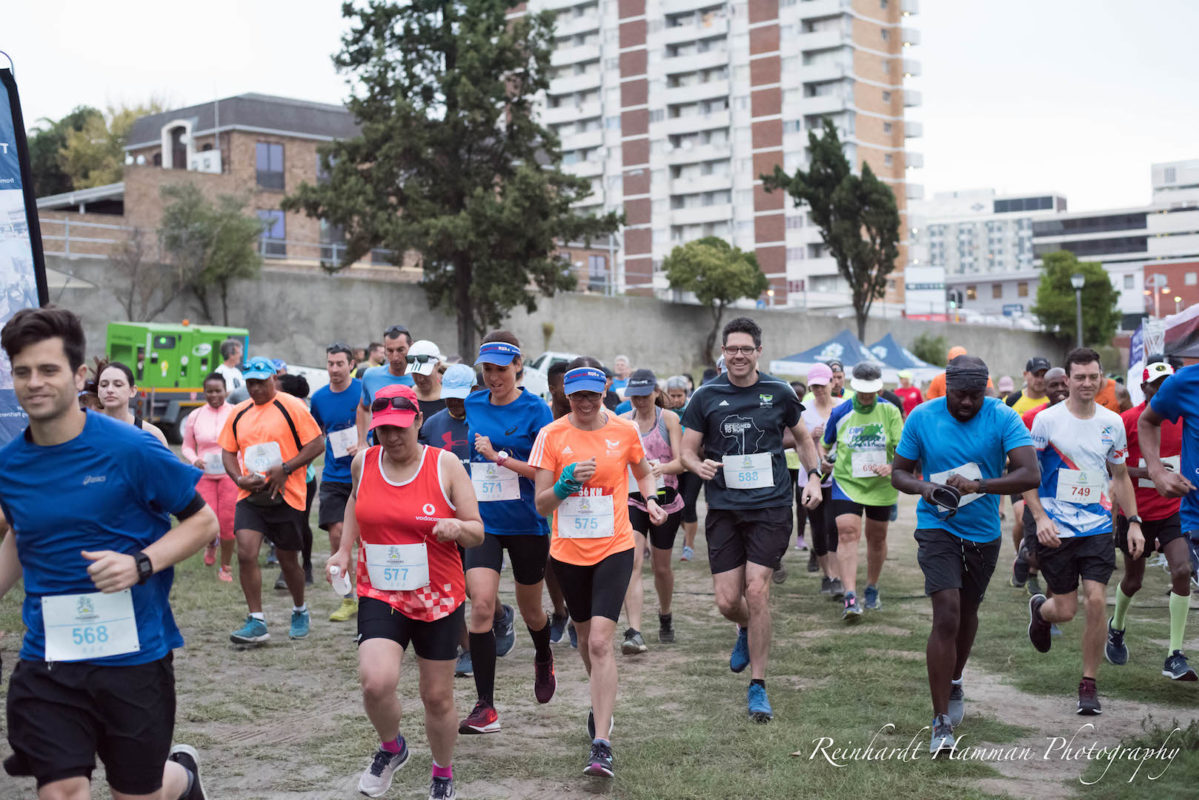 GTP Urban Trail Run 7 April 2019 runners
