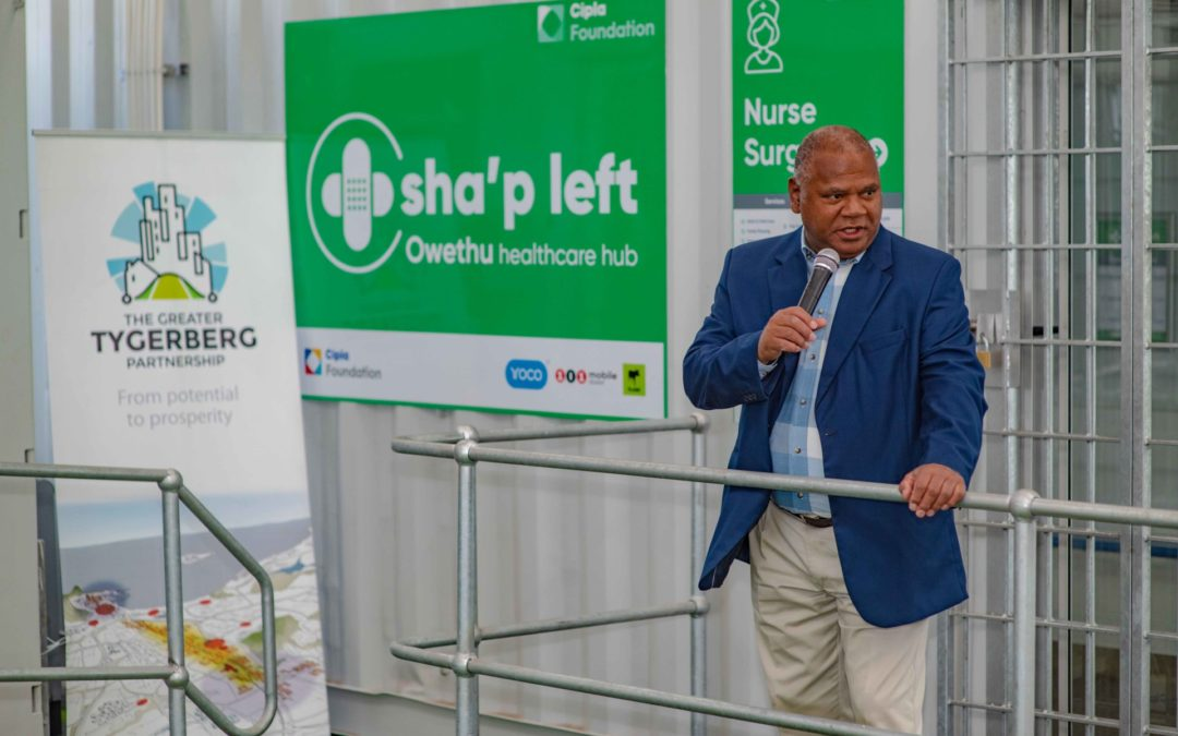 Executive Mayor, Dan Plato opens Sha'p Left Healthcare hub