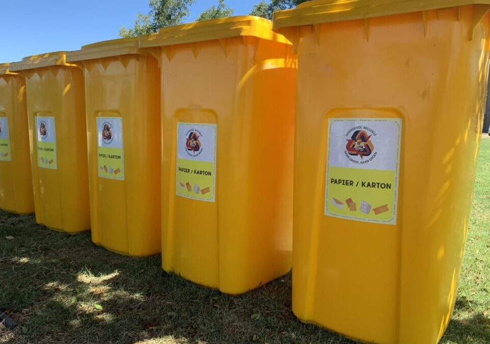 Bellville High School aims for zero waste