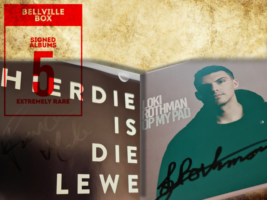 Signed CDs reward in Bellville clock tower crowdfunding campaign