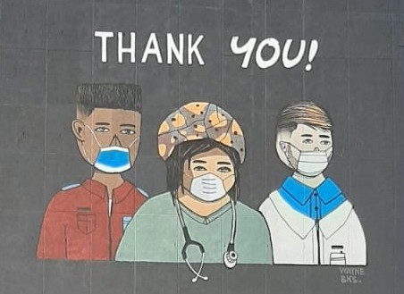Wall of thanks: street art in Bellville